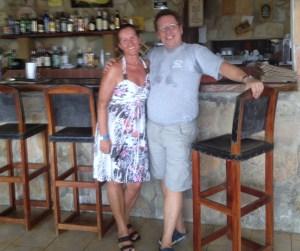 Der Chef vom Gerald's und meine Frau