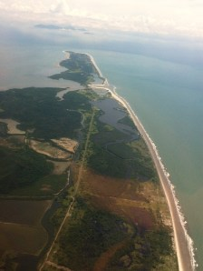 Punta Chame Aerial