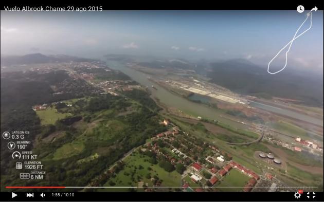 Panamakanal Miraflores locks & extension (C) Henry Stec
